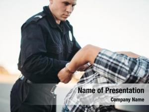 Arrests police officer driver violator