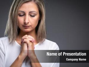 Woman praying woman praying her