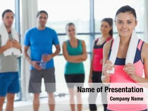 Fitness portrait instructor class fitness