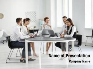 Professionals team young conducting business