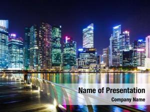 Singapore urban cityscape