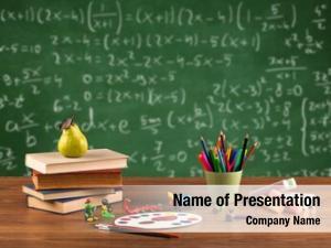 Classroom concept back school
