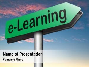 Education e learning online internet learning