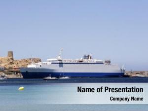Corsica ferry boat port