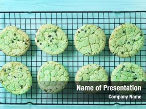 Ingredient mint baking grid