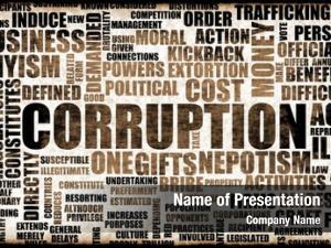 Corrupt corruption government system