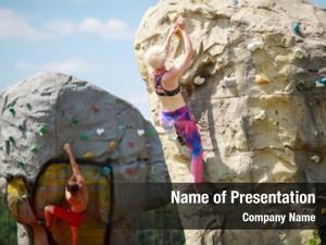 Men photo sports women climbing