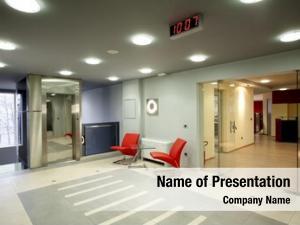 Office lobby modern building
