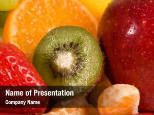 Strawberry, fruit composition, kiwi, orange,