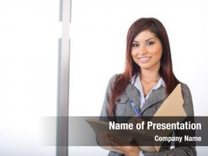 Holding business woman legal documents