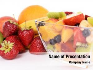Salad fresh fruits bowl fruits