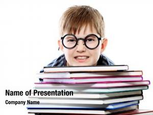 Funny educational theme: teenager books