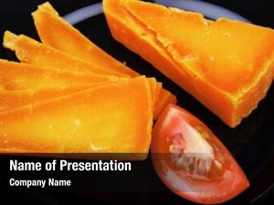 Orange aged powerpoint template
