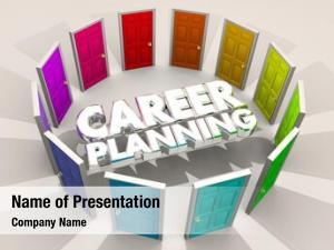 Career planning powerpoint theme