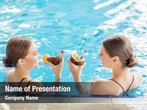 Friendly girls powerpoint theme