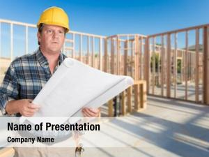 Professional house male contractor