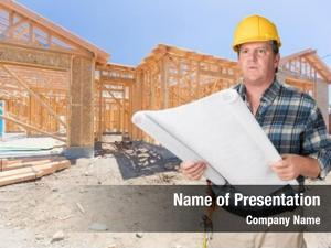 Construction house male contractor
