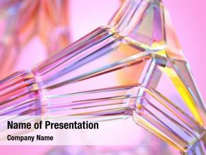 Node, transparent crystal