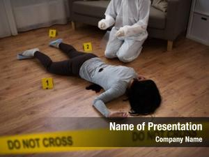 Police tape examination investigation forensic