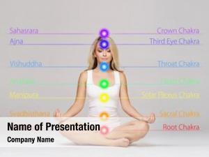 Girl young healthy meditating lotus