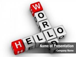 Crossword hello world puzzle