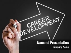 Text: hand writing career development