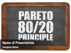 Eighty twenty pareto principle rule white