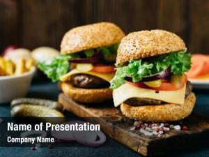 Burger tasty beef