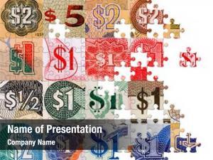 Symbols puzzle dollar all over