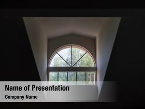 Skylight high ceiling window view