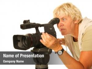 Camera professional video elderly camera