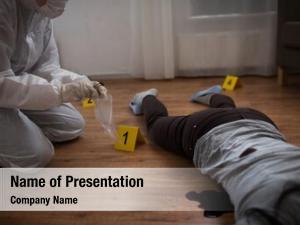 Criminalist examination investigation forensic
