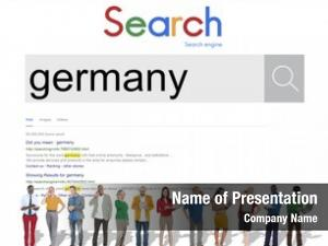 Website global search browser germany