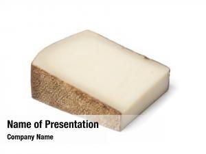 Gruyere piece swiss cheese white