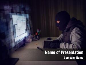 Stealing computer hacker data computer,