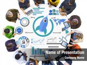 Chart new business innovation teamwork