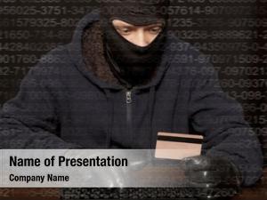 Laptop hacker balaclava