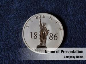 Usa commemorative powerpoint template