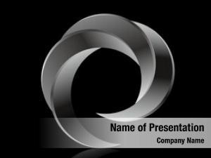 Circular logo business whirlpool