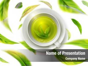 Green Tea Powerpoint Templates Templates For Powerpoint Green Tea Powerpoint Backgrounds