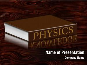 Knowledge physics book reflecting