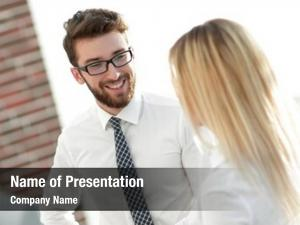 Senior assistant powerpoint template