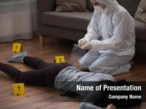 Examination investigation forensic people concept