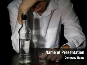 Alcohol, man bottle black