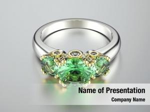 Diamond golden ring
