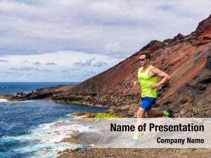 Man trail powerpoint background