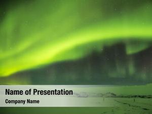 Beautiful aurora powerpoint theme