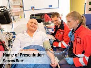 Patient paramedics checking pulse emergency