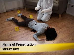 Investigation and forensic powerpoint theme