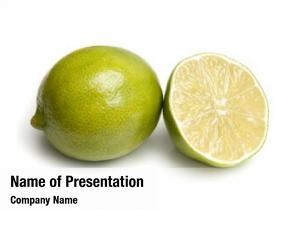 Lime lime sliced half white